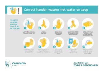 Instructies handen wassen met water en zeep_feb2020