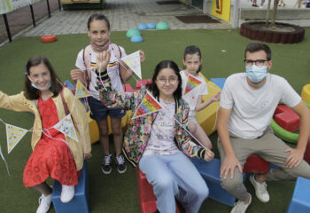 kindergemeenteraad vlaggetjes